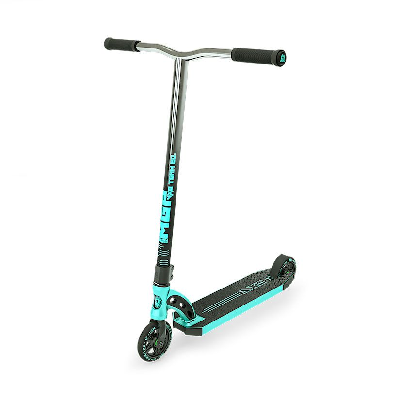 MGP VX8 Team, Scooter Complete, Turquoise, Angle Front