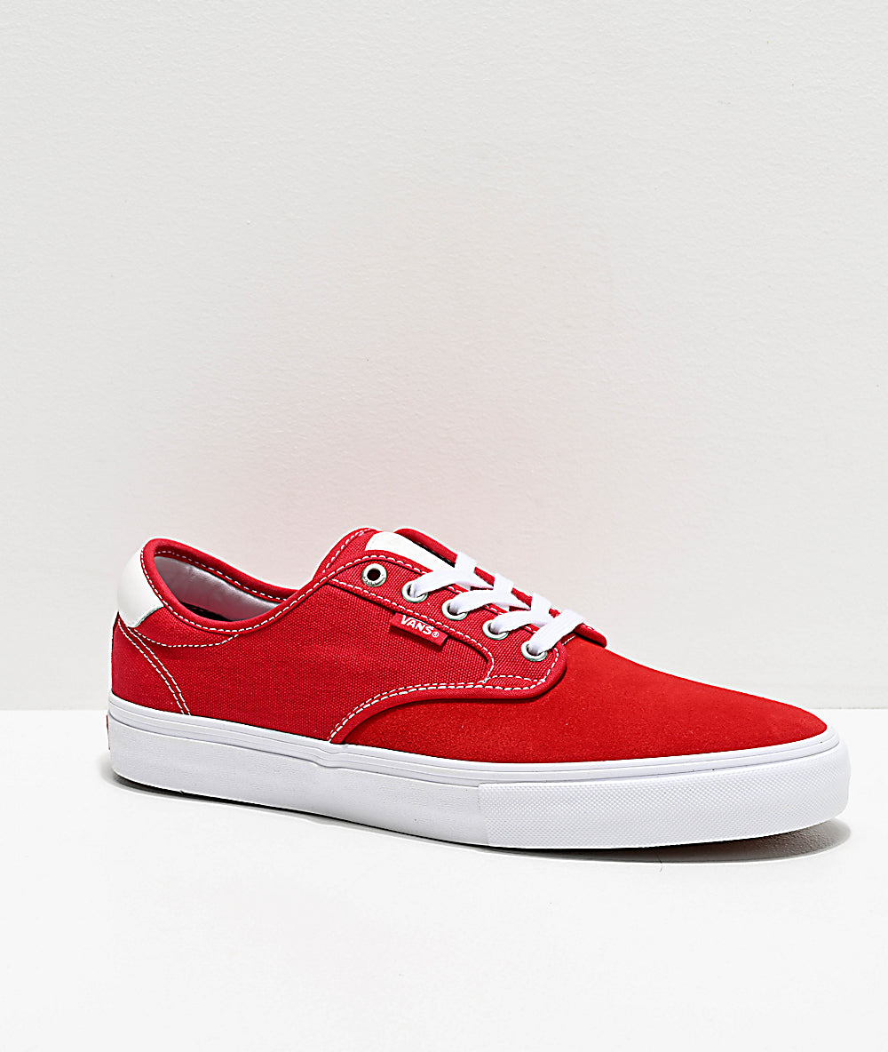 Vans Chima Ferguson Pro Racing Red True White Shoes