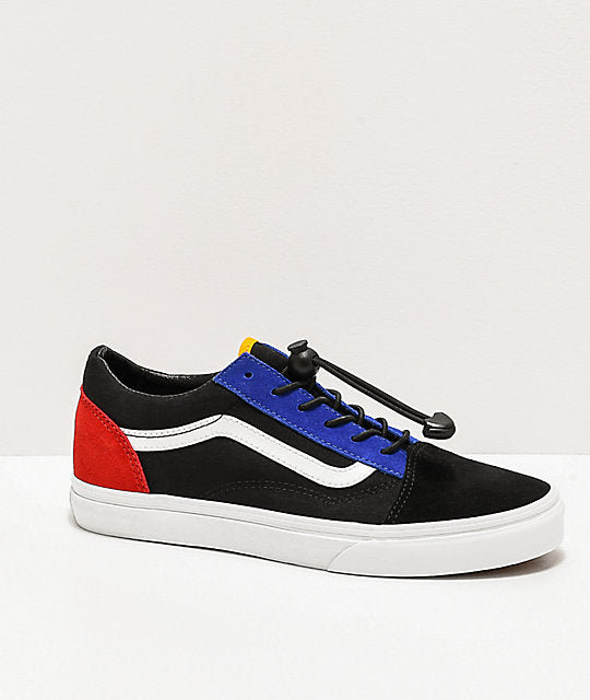 Vans Youth Old Skool Toggle Lace Block/Black - Shoes