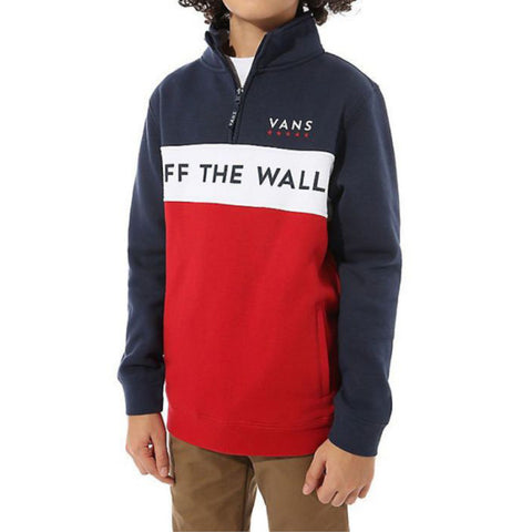 Vans Boys Victory QZP Chili Pepper - Shirt