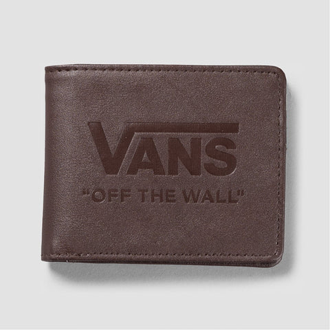 Vans Logo Dark Brown - Wallet