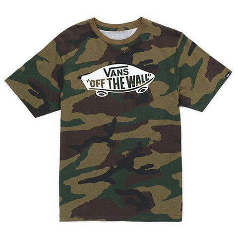 Vans Boys OTW Camo White - Shirt
