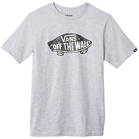 Vans Boys OTW Logo Fill Athletic Heather Black Dimension - Shirt