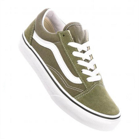 Vans Youth Old Skool Grape Leaf  - Shoes