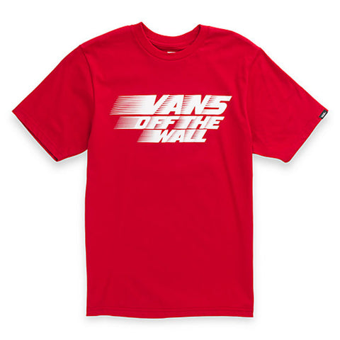 Vans Boys Racers Edge Chili Pepper - Shirt