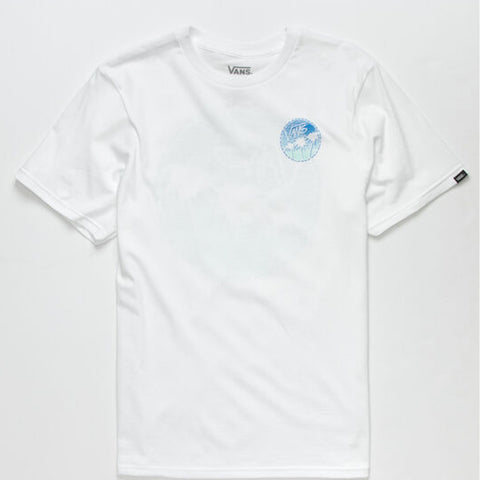 Vans Boys Sano White - Shirt