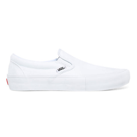 Vans Slip-On Pro White / White - Shoes Side View