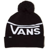 Vans Stripe Pom - Beanie Black White