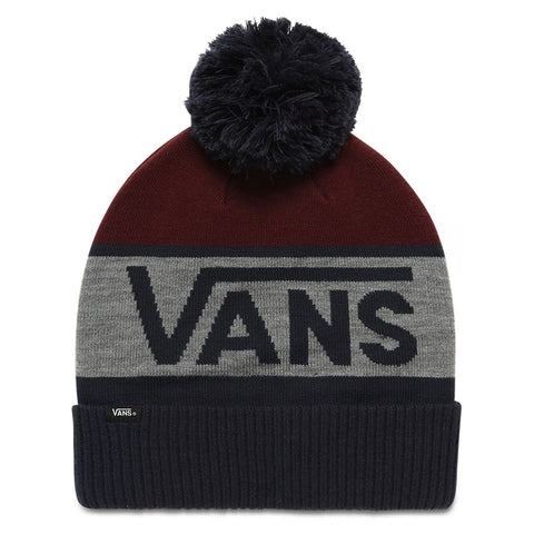 Vans Stripe Pom - Beanie Dress Blues Port Royale