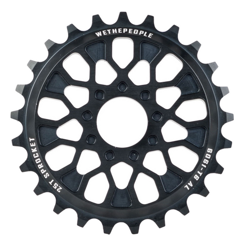 We The People Pathfinder 25T - BMX Sprocket Black