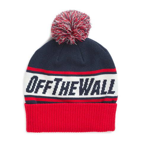 bae58bbf860 Vans Off The Wall Pom Beanie. Images   1   2. Sold Out