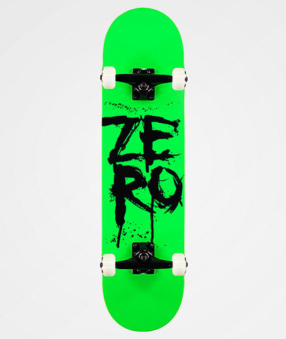 Zero Blood Stacked 8 - Skateboard Complete