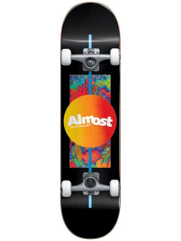 Almost Gradient Flip Youth First Push - Skateboard Complete 7.0 Black
