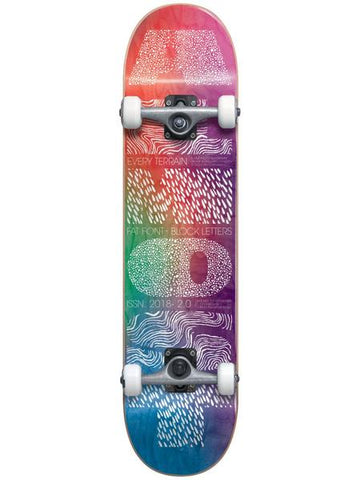 Almost Fat Font Premium Resin - Skateboard Complete