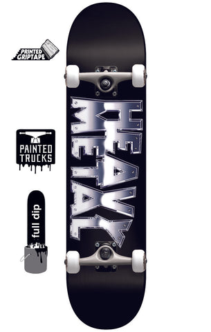 Darkstar Heavy Metal Chrome FP - Skateboard Complete