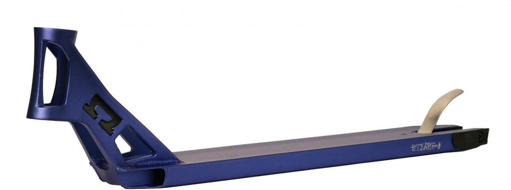 Scooter deck for freestyle scooter, Blue