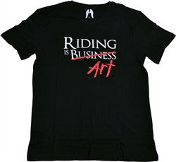 "Ethic ""Riding Is Art"" t-shirt"