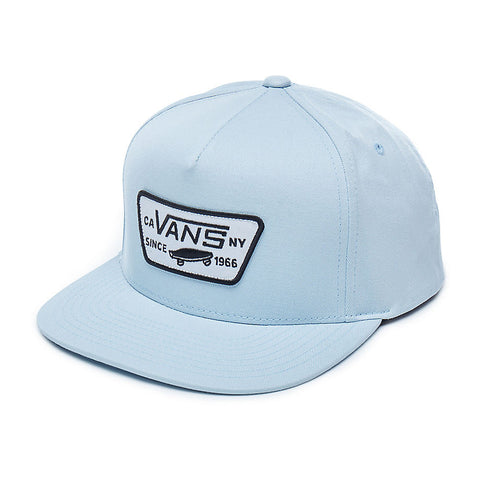 Vans Boys Full Patch Snapback - Hat Baby Blue