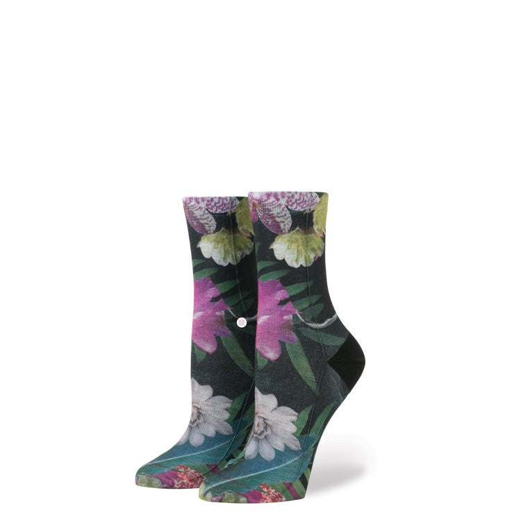 Instance Socks Girls Tropic Fever Black