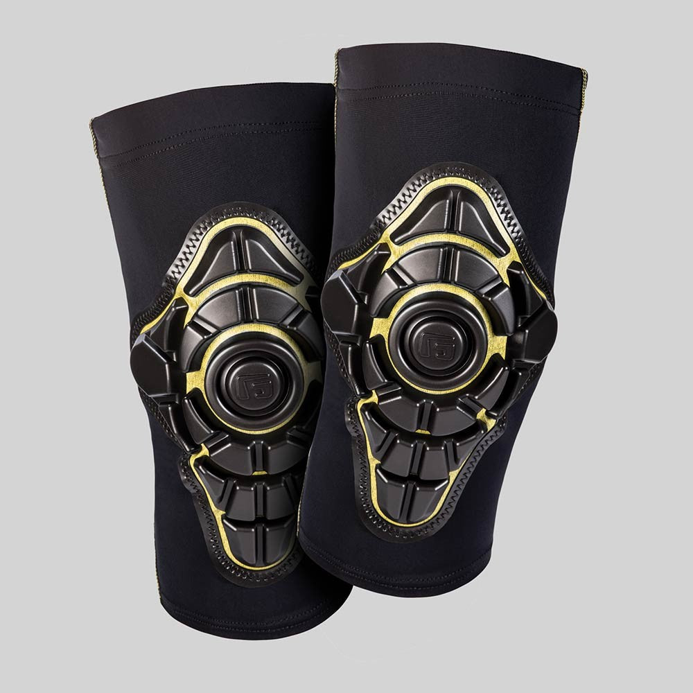 G-Form Pro-X Youth Knee Pads - Yellow