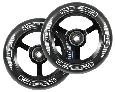 Longway Metro 110mm (PAIR) - Scooter Wheels