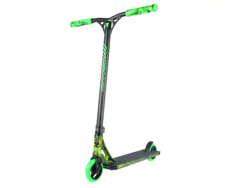 Root Industries Lithium Radiant - Scooter Complete Black Green Yellow