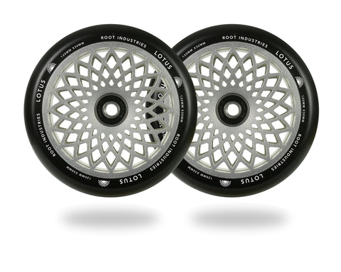 Root Industries Lotus 120X30mm (PAIR) - Scooter Wheels Raw