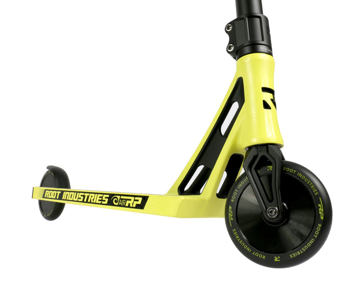 Root Industries AIR RP - Scooter Complete Yellow Close Up View