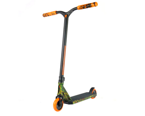 Root Industries Invictus Radiant - Scooter Complete Black Orange Yellow