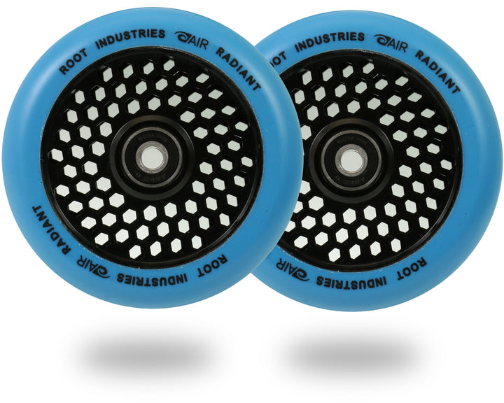 Root Industries Honeycore 110mm Radiant (PAIR) - Scooter Wheels Blue