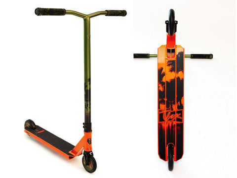 Lucky TFox Sig. Pro Sunset Edition - Scooter Complete
