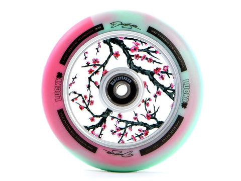 Lucky Lunar Darcy-Cherry-Evans Sig. 110mm (PAIR) - Scooter Wheels