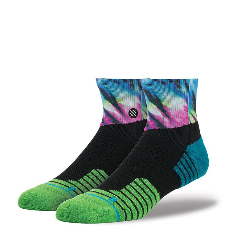 Instance Socks Athlete Blueshift QTR Multi