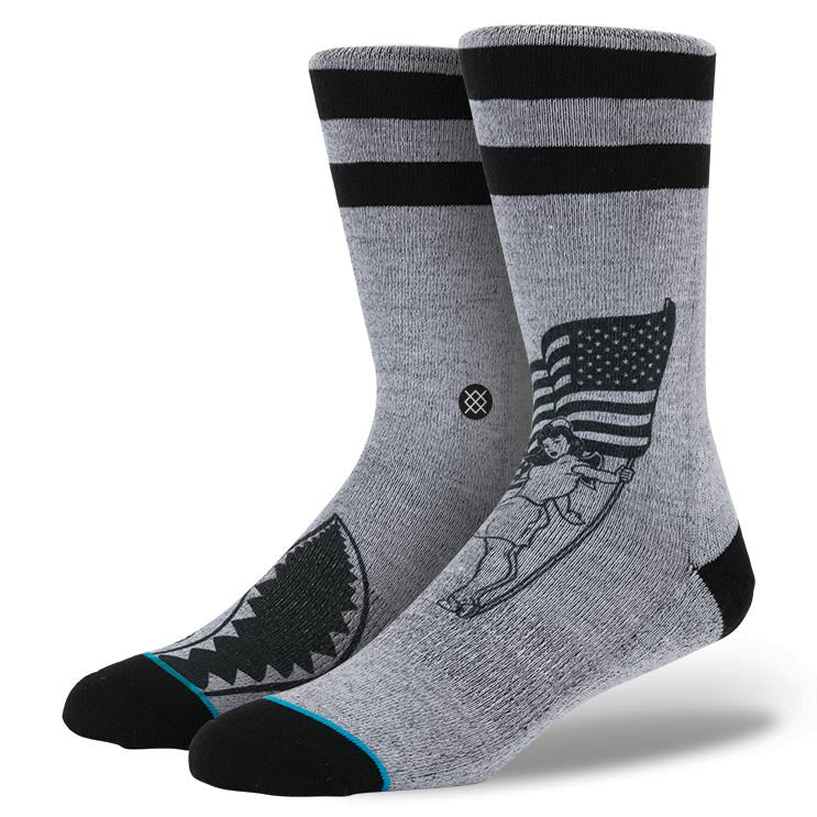 Instance Socks Spirit Grey