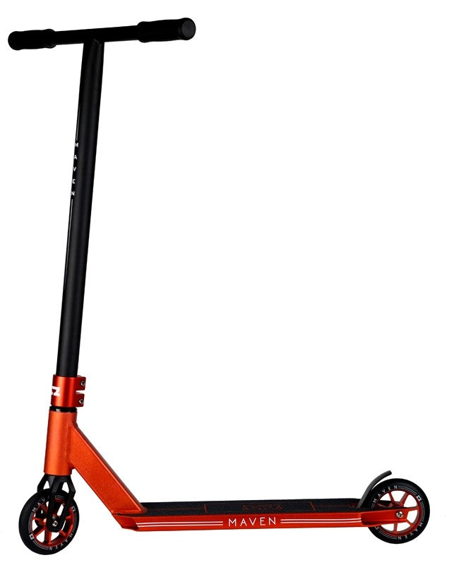 AO Scooters Maven 2018, Complete Scooter, Red Side View