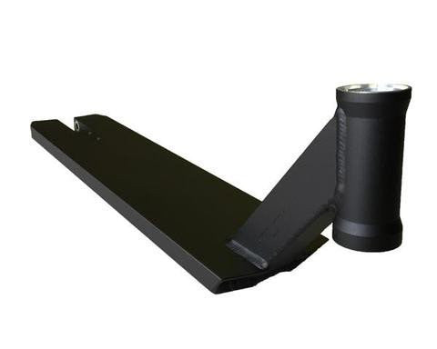 Scooter deck for freestyle scooter, Black