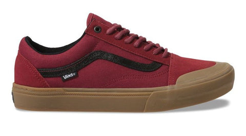 Vans Old Skool Pro BMX Red / Gum - Shoes