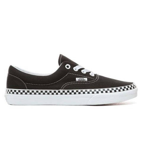 Vans Era Check Foxing Black - Shoes