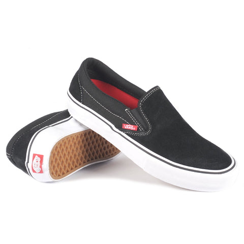 Vans Slip-On Pro Black/White/Gum - Shoes