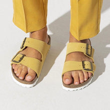 Load image into Gallery viewer, Birkenstock Arizona Slide Sandal in Yellow