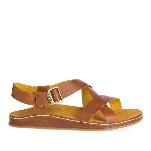 Chaco Wayfarer Brown Leather Sandal for Women