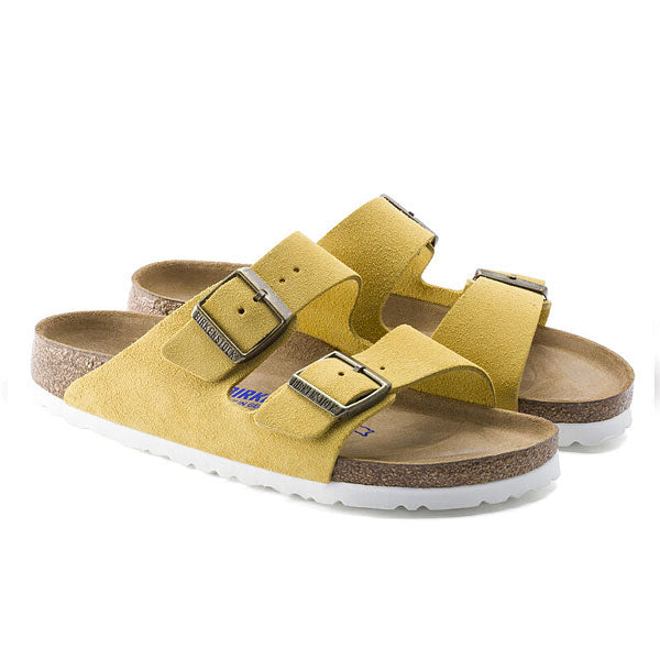 Birkenstock Arizona Slide Sandal in Yellow