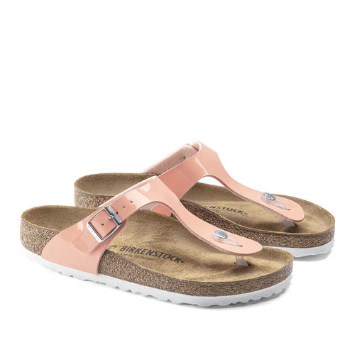 Birkenstock Gizeh Patent - Coral - Sole Food