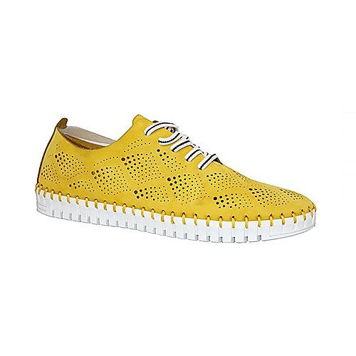 Eric Micheal Annie flat in yellow
