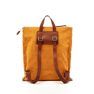 Graf Lantz Hana Backpack - Tumeric Canvas