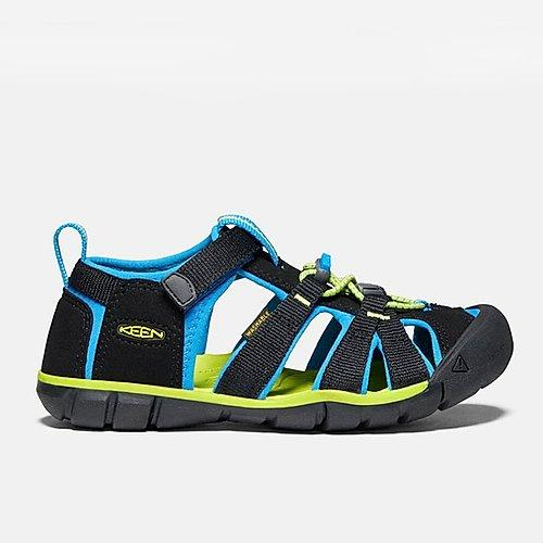 keen youth seacamp II sandal black