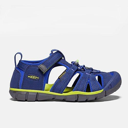 keen seacamp II youth blue sandal