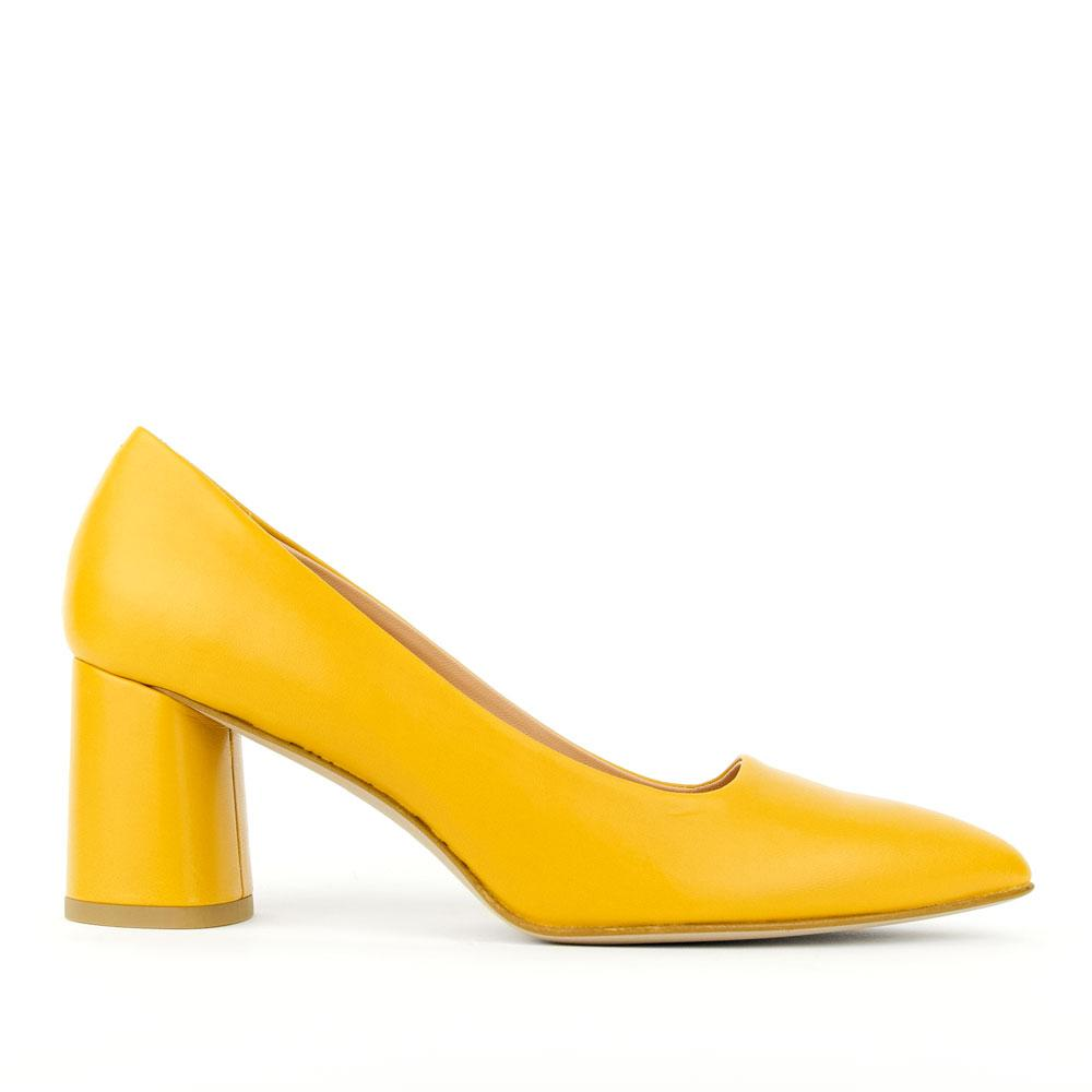 re-souL Emily Mustard Yellow Classic Pump for Women