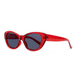 Reality Eyewear Sloane Ranger - Red Glitter - Sole Food