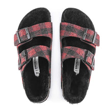 Load image into Gallery viewer, Birkenstock Arizona Red Wool plaid.